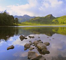 The Lake District: Reflections in Blea Tarn by Rob Parsons