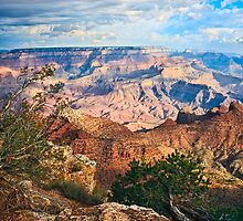 Grand Canyon - A Break in the Clouds by cfu123