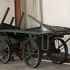 Luggage Cart by Donna Adamski