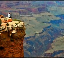 Living On The Edge by Chet  King