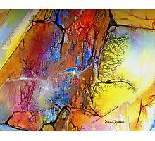 Rockslide Photographic Print