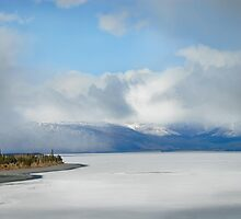 Kluane Lake  by Dyle Warren