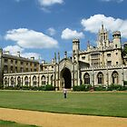 St John's College, Cambridge by Mike Paget
