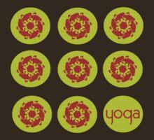 yoga by Om  Tees