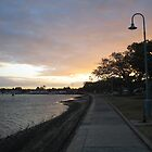 Shorncliffe Jetty, Shorncliffe QLD by Karyn Lake