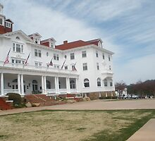 Stanley Hotel - Location of THE SHINING upclose and personal by Anthea  Slade