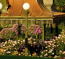 Garden With A Hint Of Lamp Post ~ Part One by artisandelimage