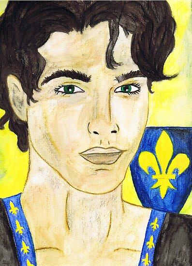 Philip II. Auguste of France by Rowan  Lewgalon