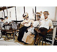 Sun day ride on theTashmoo . Photographic Print