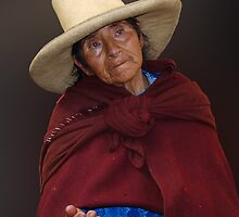 STREET PERSON - CAJAMARCA by Michael Sheridan