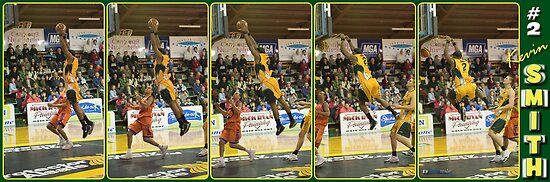 Kevin Smith - DUNK!!! by Gavin  Male