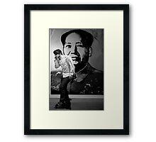 The New Revolution Framed Print