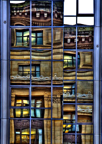 Reflections of Glasgow (1) by Karl Williams