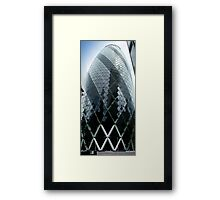 The Gherkin - No.30 St Mary Axe London Framed Print