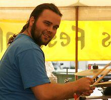 Drummer Looks by Caroline Angell
