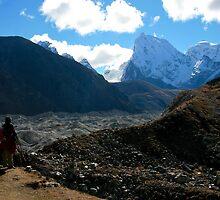 Across the Glacier We Go by Richard Heath