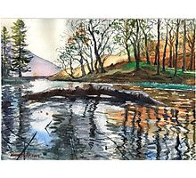 """...""""Lanty's Tarn"""" after mikebov photo. Photographic Print"""