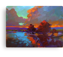 """Tequila Sunrise"" Canvas Print"