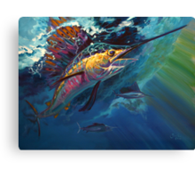 """Full Sail"" Canvas Print"