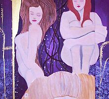 I Wanna Be A Klimt Girl by scjohnson2