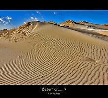 Desert or.....? by Adri  Padmos