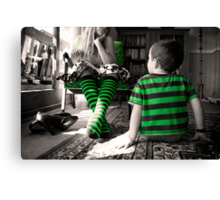 One day when I'm big... Canvas Print