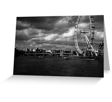 The Eye of the Storm. Greeting Card