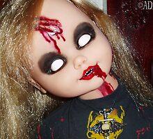 *EVIL DEB* Custom Doll - close up by ADzArt