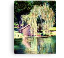 The Weeping Willow Tree Canvas Print
