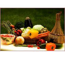 Lovely Veggies Photographic Print