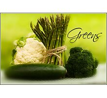 Thinking Green Photographic Print