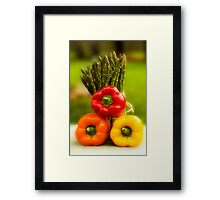 Then There Were Three! Framed Print