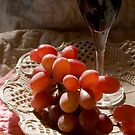 Still Life With Grapes by Juliet Chase