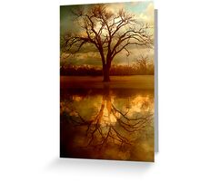 "A Place To ""Reflect"" Greeting Card"