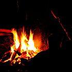 Mesmerised by Firelight by Jazzyjane
