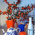 Orange Berries [C7004] by Youbeaut Designs
