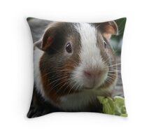 Leafy Stare Throw Pillow