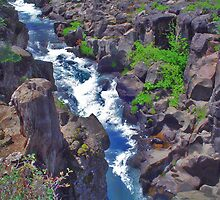 McCloud Upper Falls Channel by Fred Seghetti
