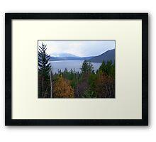 Near Salmon Arm Framed Print