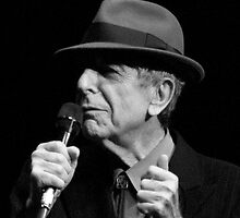 Leonard Cohen by bluesman101