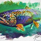 Brown Trout by Mike Savlen