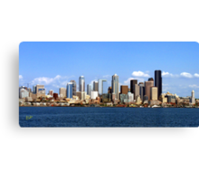 Seattle Skyline Ten Canvas Print
