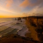 Sunset, Twelve Apostles by Wayne Harris