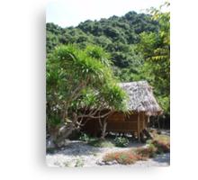 Monkey Island Hut Canvas Print