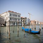 Grand Canale in Venice by John Bergman