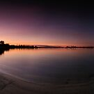 Swan River Sunset by Geoff White
