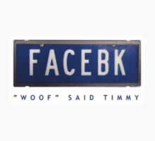 N/Plate - Woof said Timmy by Youbeaut Designs