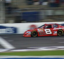 Jr. during practice at Lowes Motor Speedway by BlueFeather