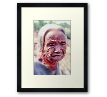 As old as the hills Framed Print