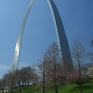 St Louis Arch, Missouri, by AnnDixon